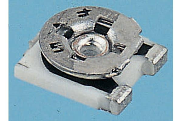 Product image for Cermet 3mm SMT trimmer,0.1W 100k