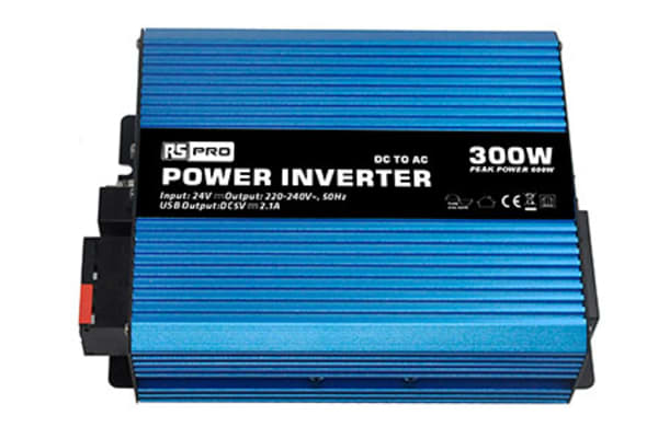 Product image for Power Inverter Pure Sine wave 24V 300W