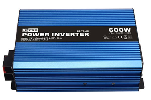 Product image for POWER INVERTER PURE SINE WAVE 12V 600W