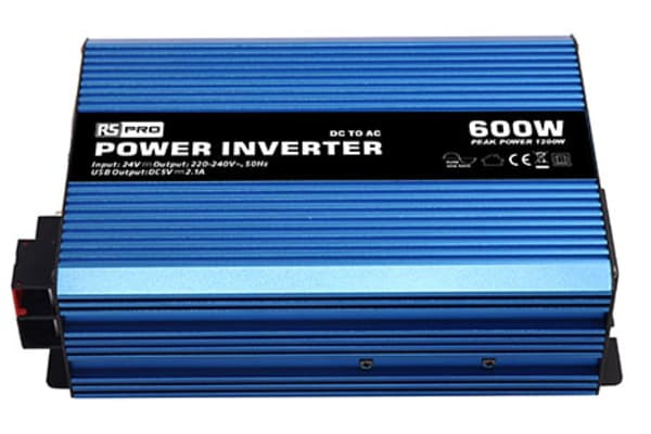 Product image for Power Inverter Pure Sine wave 24V 600W
