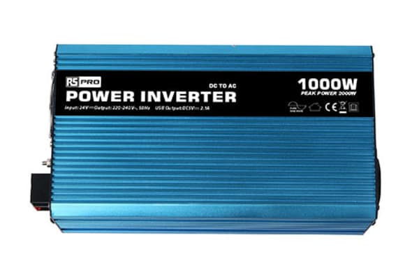 Product image for 1000W Fixed Installation DC-AC Power Inverter, 24V / 230V