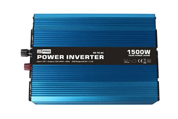 Product image for Power Inverter Pure Sine wave 12V 1500W