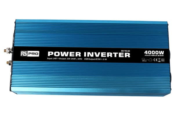 Product image for Power Inverter Pure Sine wave 24V 4000W