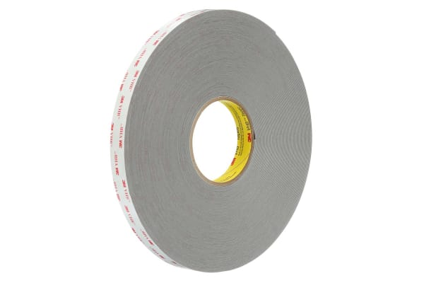 Product image for 3M 4941 VHB tape gray 19mm x 3m