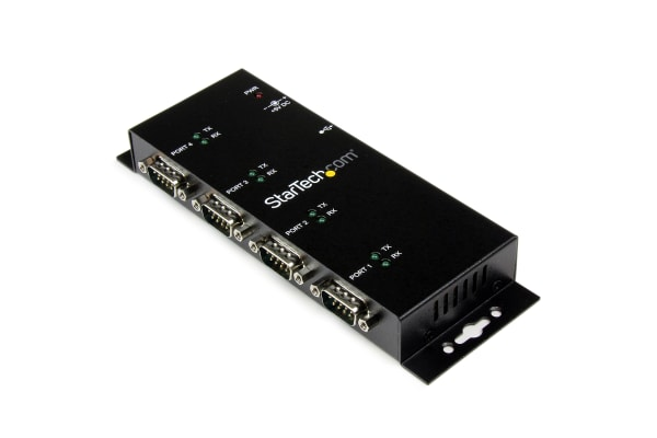 Product image for USB to Serial Adapter Hub - 4 Port - Ind