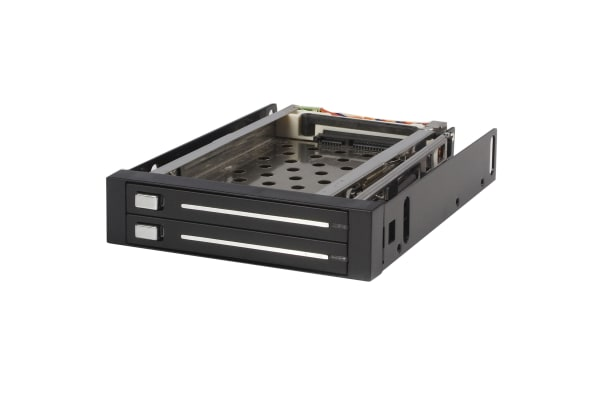 Product image for 2 DRIVE 2.5IN TRAYLESS HOT SWAP SATA MOB
