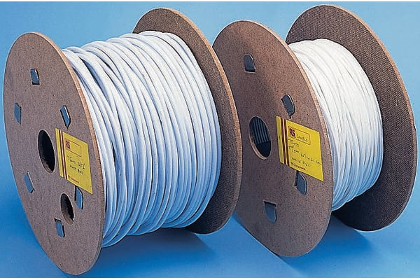Product image for PVCcovered wire rope for ducting,5mmx75m