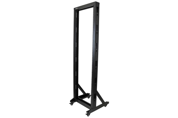 Product image for 2-POST SERVER RACK WITH CASTERS - 42U