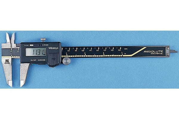 Product image for Mitutoyo 200mm Digital Caliper 0.01 mm, ,Metric & Imperial