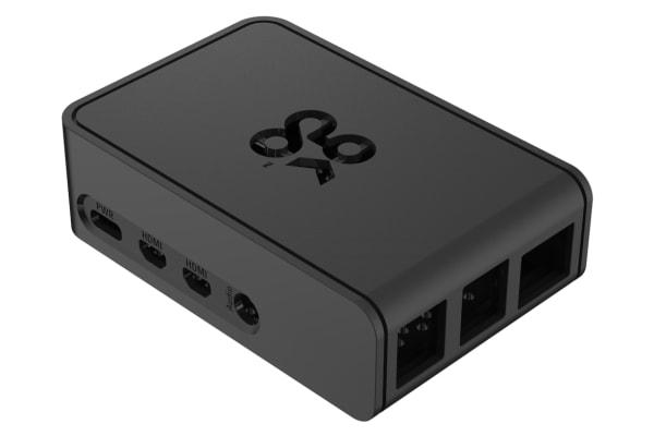 Product image for Okdo Pi 4 Slide Series, Black Case