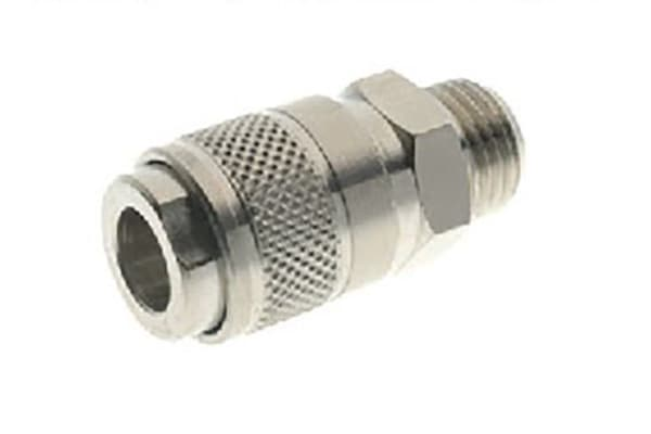 Product image for BSP MALE QUICK COUPLING 1/8