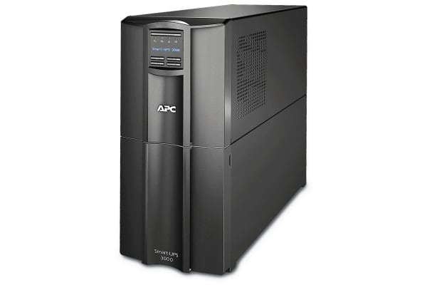 Product image for APC 3000VA Tower UPS Uninterruptible Power Supply, 230V Output, 2.7kW - Line Interactive