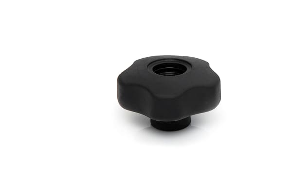 Product image for 28MM M5 SOFT TOUCH KNOB THROUGH THREAD