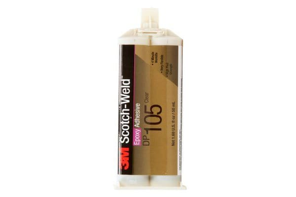 Product image for DP105 EPOXY ADH CL 48.5 ML CAR 12/CV
