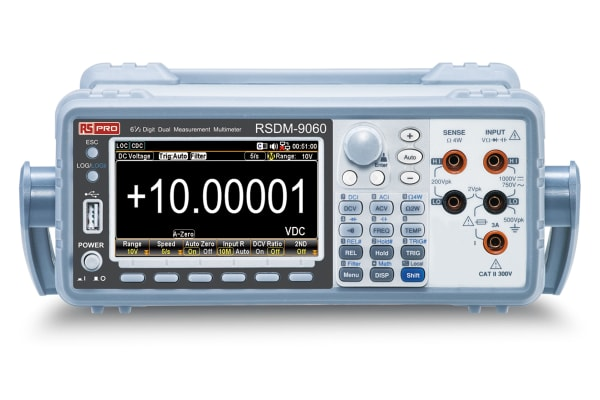 Product image for RS PRO RSDM-9060 Bench Digital Multimeter