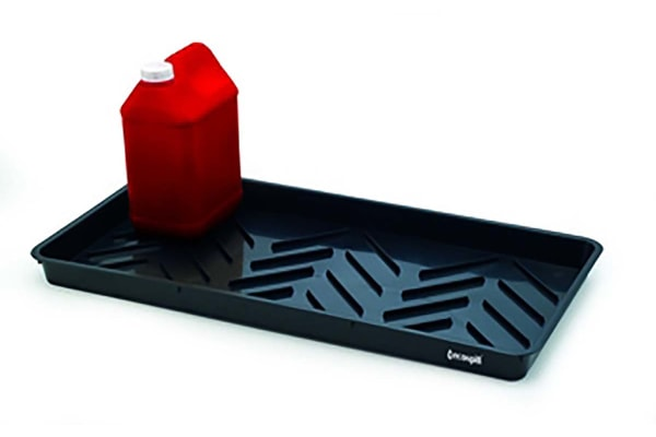 Product image for 100CM X 55CM X 15CM BLACK SPILL TRAY 65L