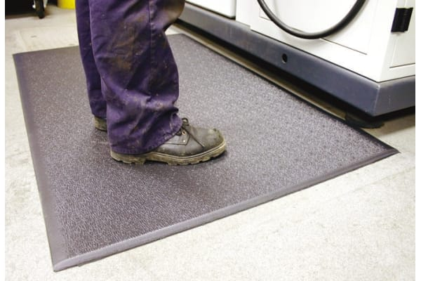 Product image for ANTI-FATIGUE MATTING,CHARCOAL 0.91X0.6M
