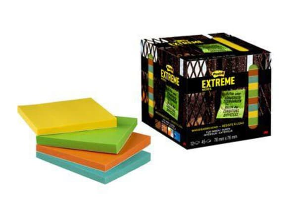 Product image for POST-IT? EXTREME NOTES YELLOW, GREEN, OR