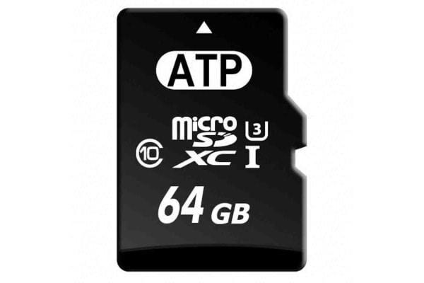 Product image for ATP 64 GB MicroSD Card Class 10