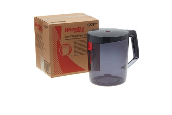 Product image for WYPALL WIPER DISPENSER - BLACK /NEW