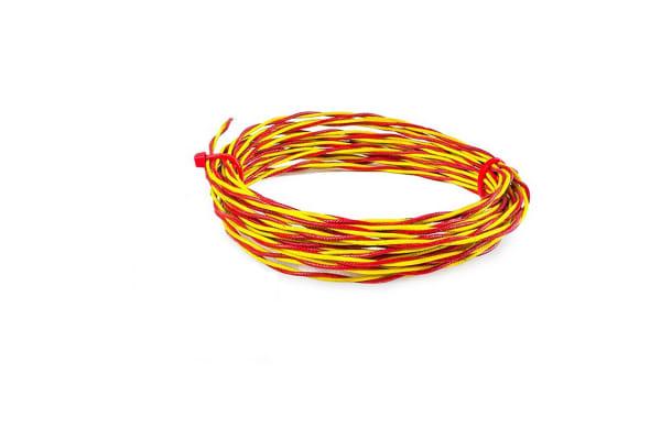 Product image for Thermocouple Wire Type K PFA Teflon Sheath 100m