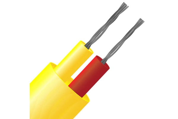 Product image for Thermocouple Wire Type K PFA Teflon Sheath 25m