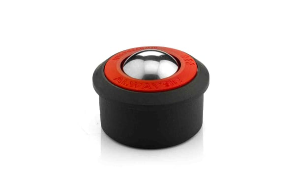 Product image for ALWAYSE Press Fit 30mm Stainless Steel Ball Transfer Unit
