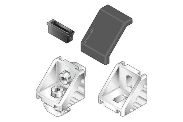 Product image for ANGLE BRACKET 30X30 8/10 SET