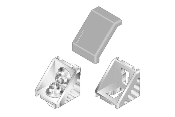 Product image for ANGLE BRACKET 40X40
