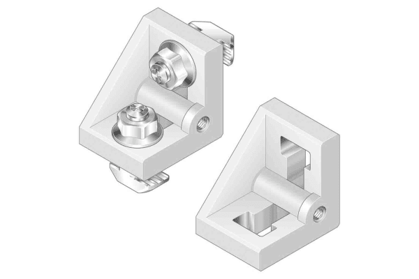 Product image for ANGLE BRACKET S 40/45 SET