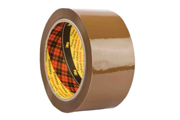 Product image for 3M Scotch 309 Tan Packing Tape, 66m x 50mm