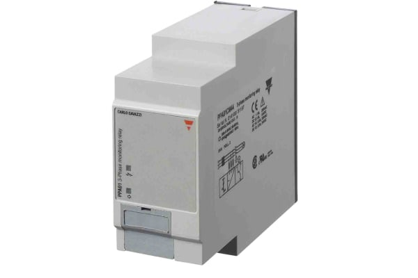Product image for Carlo Gavazzi Phase Monitoring Relay With DPDT Contacts, 380 → 480 V ac Supply Voltage, 3 Phase, Undervoltage