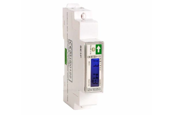 Product image for Schneider Electric A9MEM 1 Phase Digital Power Meter, 90mm Cutout Height