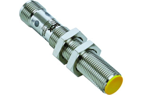 Product image for IME2S Inductive Safety Non Contact Switch, Nickel-plated brass, 24 V