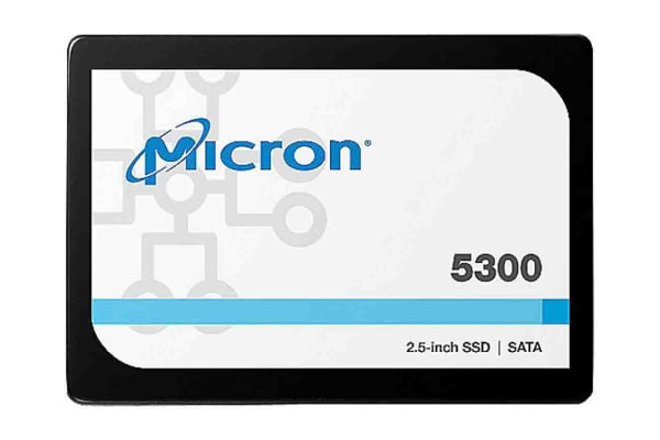 Product image for Micron 5300 PRO 2.5 in 960 GB SSD Drive