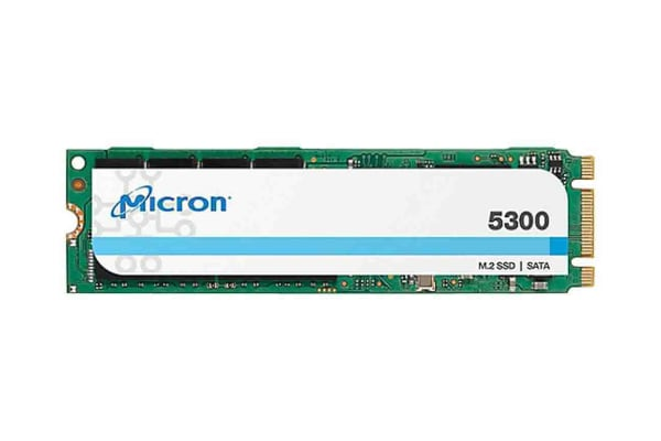 Product image for Micron 5300 PRO M.2 (2280) 480 GB SSD Drive