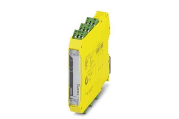 Product image for Phoenix Contact 24 - 230 V Safety Relay -  Dual Channel With 2 Safety Contacts  with None Auxiliary Contact, Compatible
