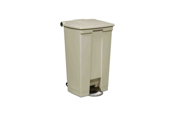 Product image for Rubbermaid Commercial Products Legacy Step-On Containers 87L Beige Pedal Plastic Waste Bin