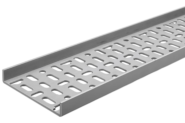 Product image for Schneider Electric Light Duty Tray, PVC 2m x 75 mm x 20mm