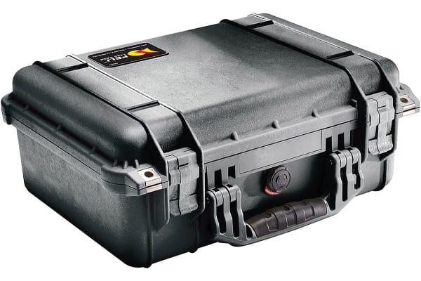 Product image for Peli 1450 Waterproof Plastic Equipment case, 174 x 406 x 330mm