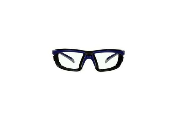 Product image for 3M SOLUS 2000 SAFETY GLASSES, GREY/BLUE-