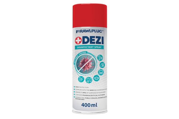 Product image for RawlPlug 400 ml Bottle Disinfectant & Sanitiser