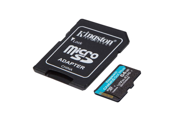 Product image for Kingston 64 GB MicroSDXC Card Class 10