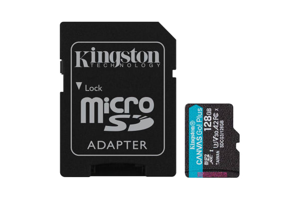 Product image for Kingston 128 GB MicroSDXC Card Class 10