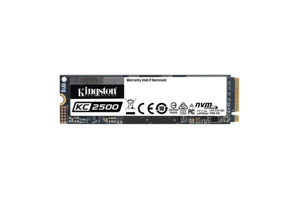 Product image for Kingston KC2500, SKC2500M8 M.2 (2280) 500 GB SSD Hard Drive