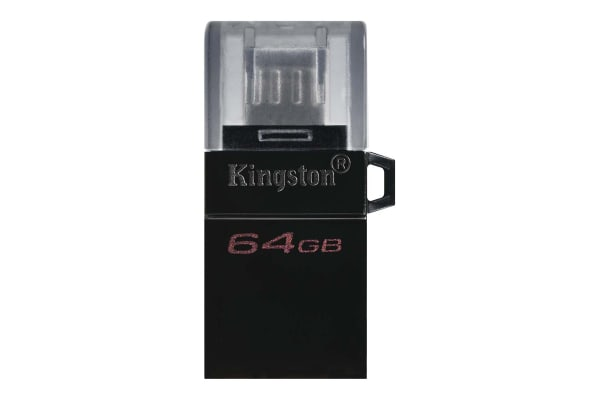 Product image for Kingston 64 GB microDuo3 G2 Micro SD Card