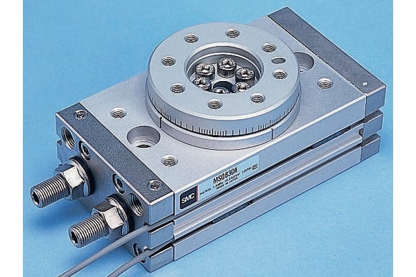Product image for ROTARY TABLE,50MM BORE 0-190DEG