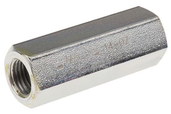 Product image for G3/4 BSP steel inline checkvalve,0.35bar