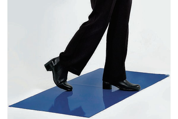 Product image for Class100 cleanroom cobalt blue tacky mat