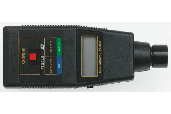 Product image for 5 digit single memory optical tachometer